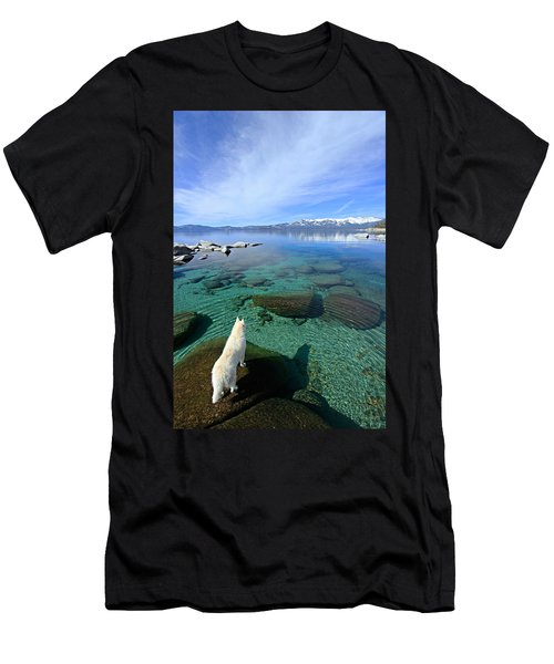 Men's T-Shirt (Athletic Fit) featuring the photograph  On A Clear Day You Can See Forever by Sean Sarsfield
