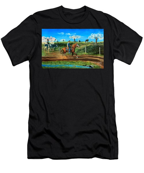 On A Spring Morning Men's T-Shirt (Athletic Fit)