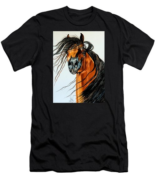 On A Windy Day-dream Horse Series #2003 Men's T-Shirt (Athletic Fit)