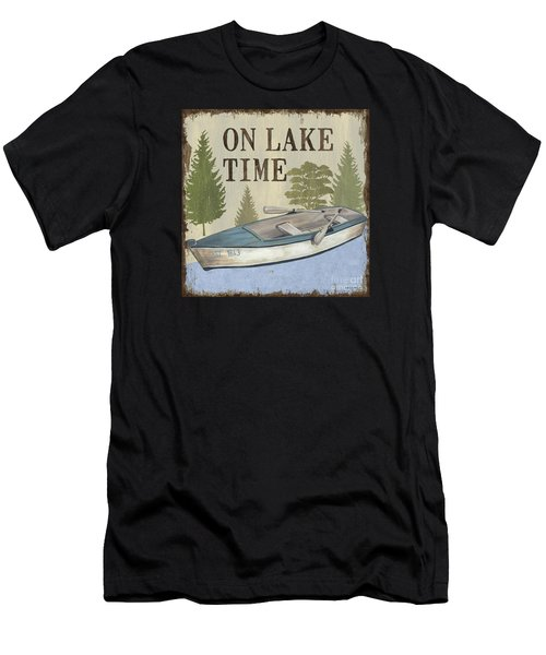 On Lake Time Men's T-Shirt (Athletic Fit)