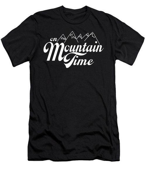 On Mountain Time Men's T-Shirt (Athletic Fit)