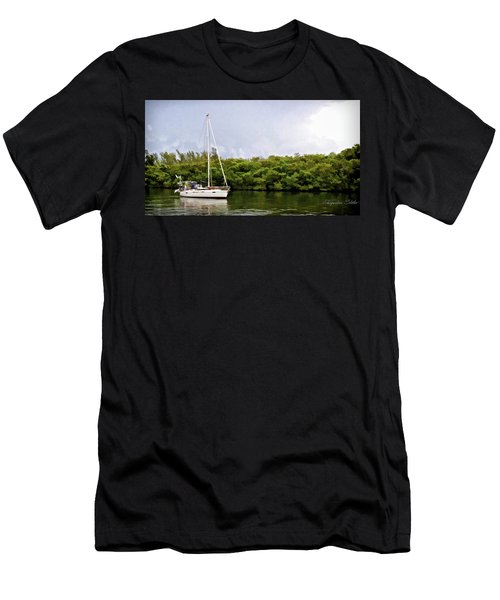 On Quiet Waters Men's T-Shirt (Athletic Fit)