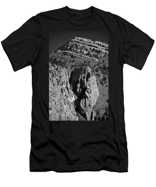 Men's T-Shirt (Athletic Fit) featuring the photograph On Sandia Mountain by Ron Cline