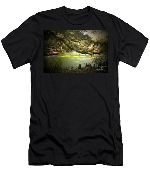On Swamp's Edge Men's T-Shirt (Athletic Fit)