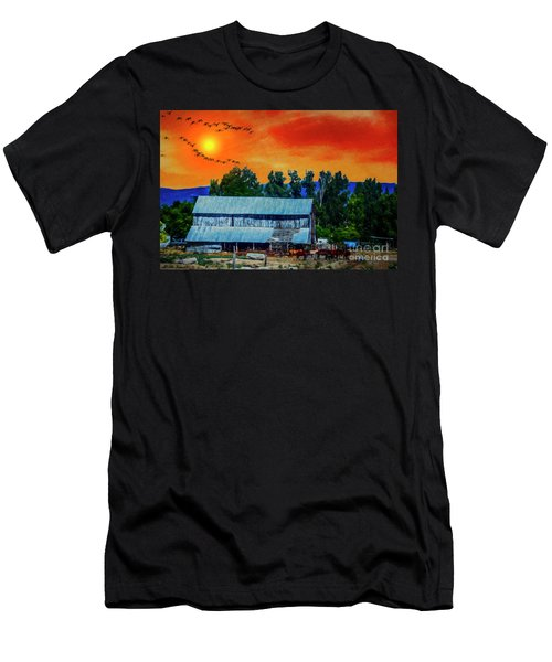 On The Farm II Men's T-Shirt (Athletic Fit)