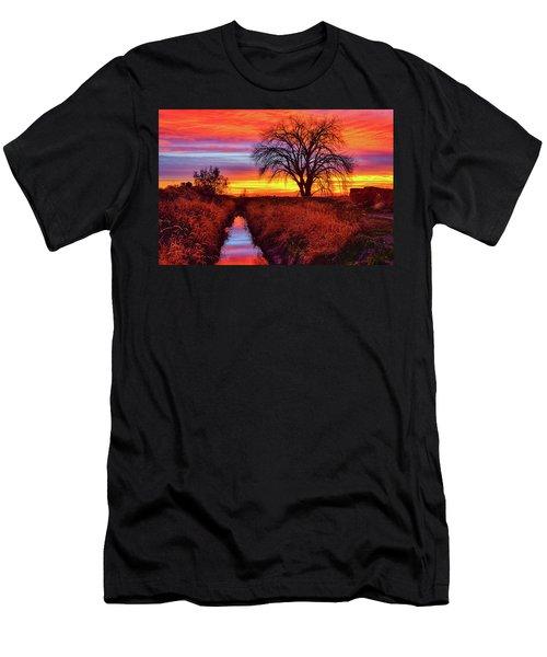 On The Horizon Men's T-Shirt (Athletic Fit)