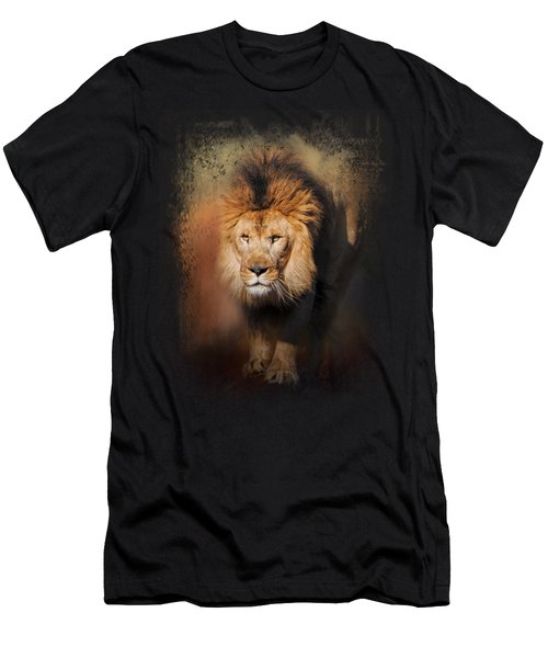 On The Hunt Men's T-Shirt (Slim Fit) by Jai Johnson