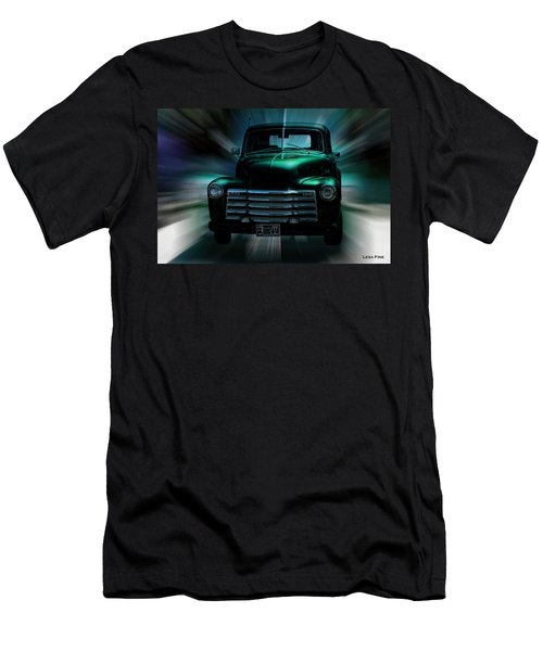 On The Move Truck Art Men's T-Shirt (Athletic Fit)
