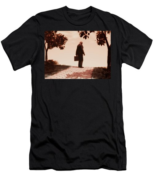 On The Path To Nowhere Men's T-Shirt (Athletic Fit)