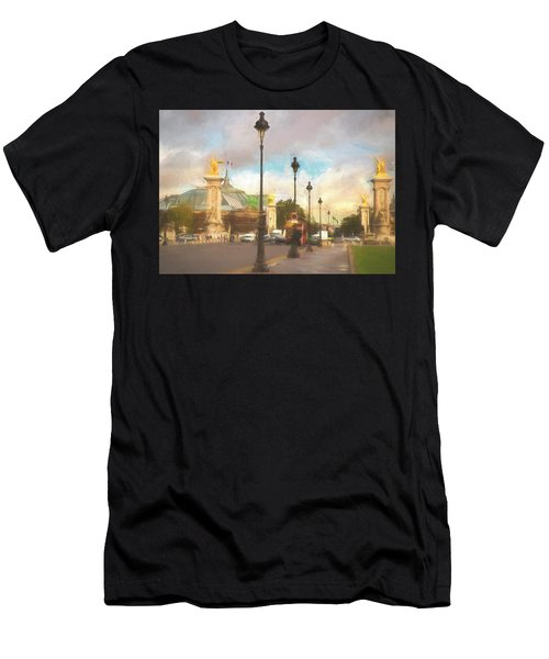 On The Pont Alexandre  Men's T-Shirt (Athletic Fit)