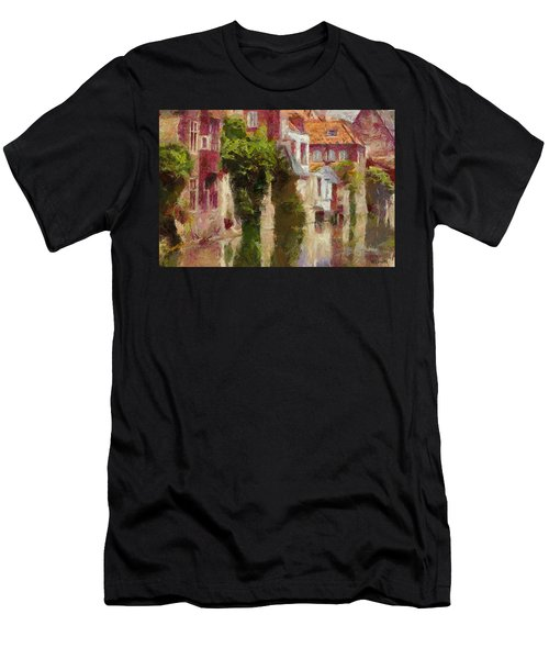 On The River Men's T-Shirt (Athletic Fit)