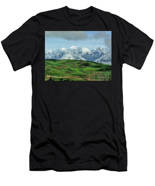On The Road From Cusco To Urubamba Men's T-Shirt (Athletic Fit)
