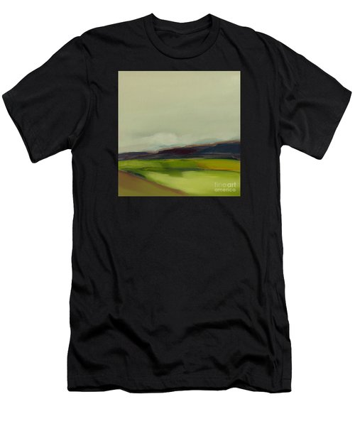 Men's T-Shirt (Athletic Fit) featuring the painting On The Road by Michelle Abrams