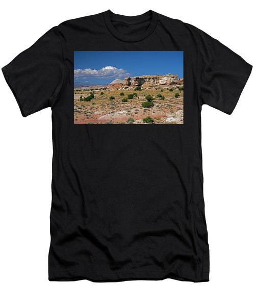 On The Road To Cathedral Valley  Men's T-Shirt (Athletic Fit)