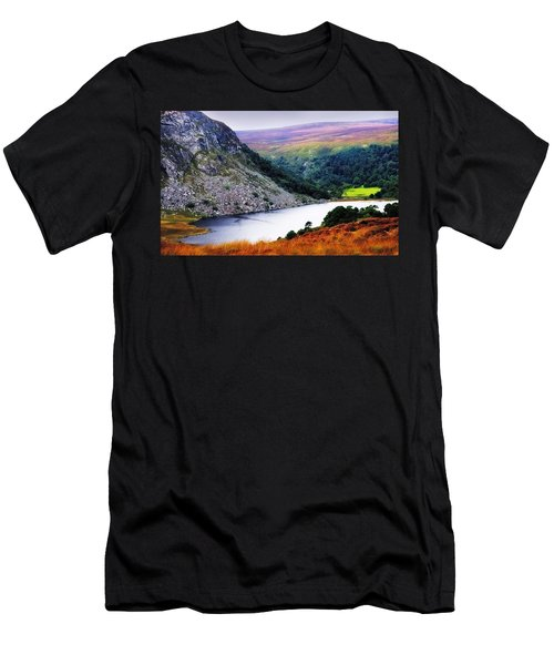 On The Shore Of Lough Tay. Wicklow. Ireland Men's T-Shirt (Athletic Fit)