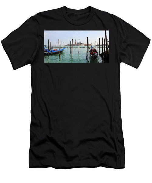 On The Waterfront Men's T-Shirt (Athletic Fit)