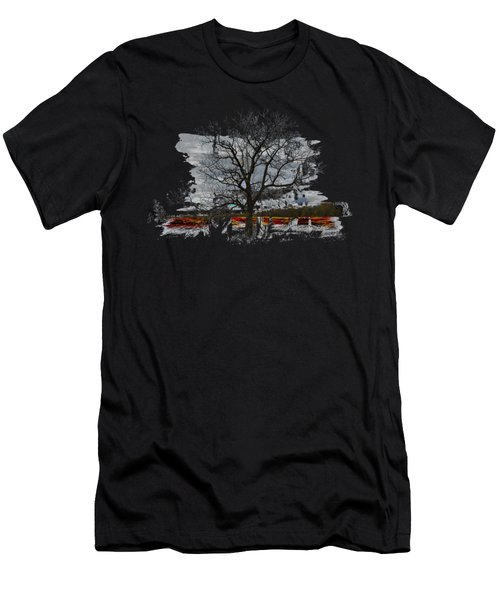 On To Beginnings Men's T-Shirt (Athletic Fit)
