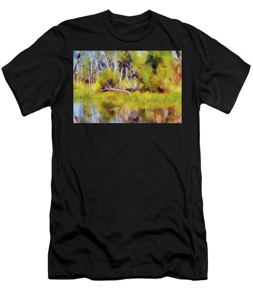 Once A Great Tree Men's T-Shirt (Athletic Fit)