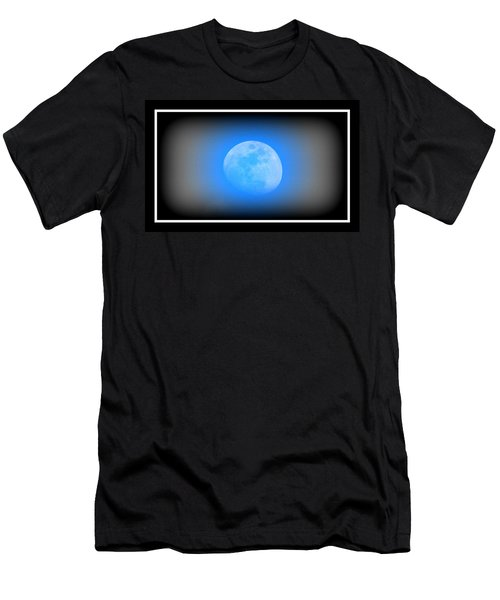 Once In A Blue Moon Men's T-Shirt (Athletic Fit)