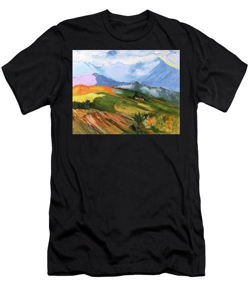 Once There Were Green Fields Men's T-Shirt (Athletic Fit)