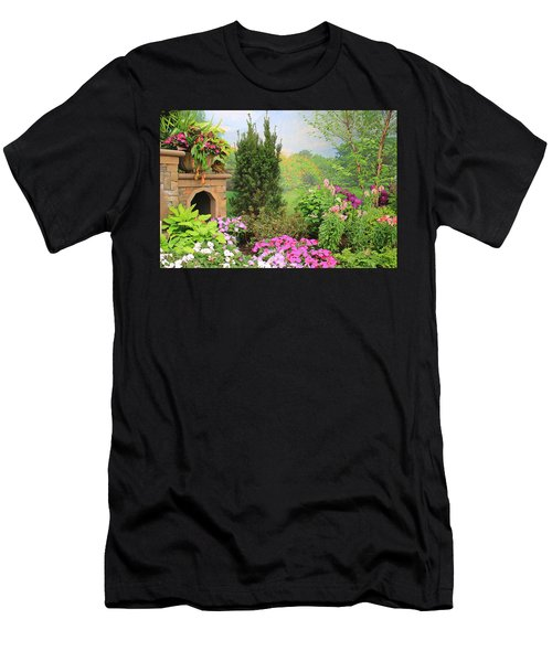 Once Upon A Spring Time Men's T-Shirt (Athletic Fit)