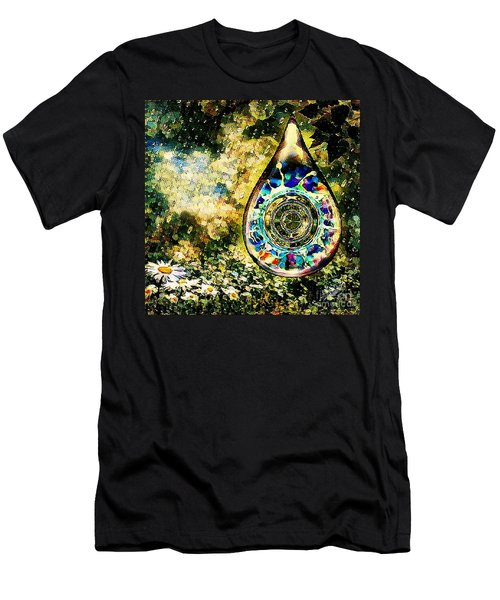 One Drop In The Rain Men's T-Shirt (Athletic Fit)