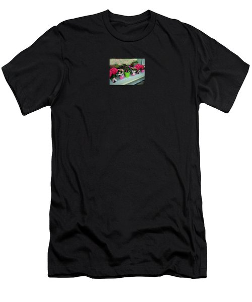 Men's T-Shirt (Slim Fit) featuring the photograph One For You - One For Me by Susanne Van Hulst
