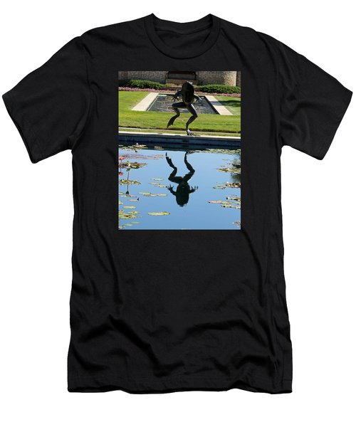 One Giant Leap Men's T-Shirt (Slim Fit) by Pamela Critchlow