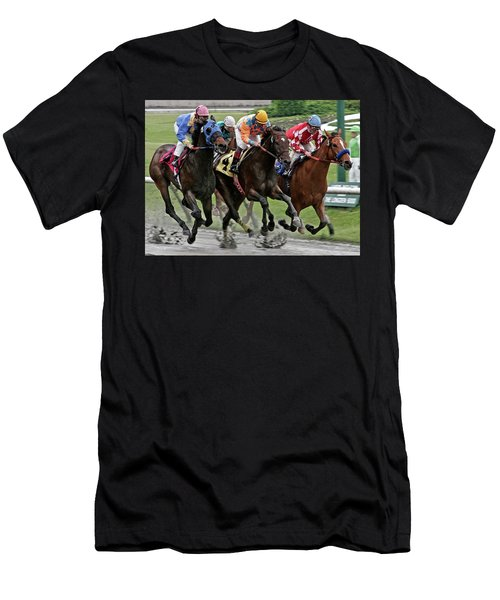 One Hoof Down Men's T-Shirt (Athletic Fit)