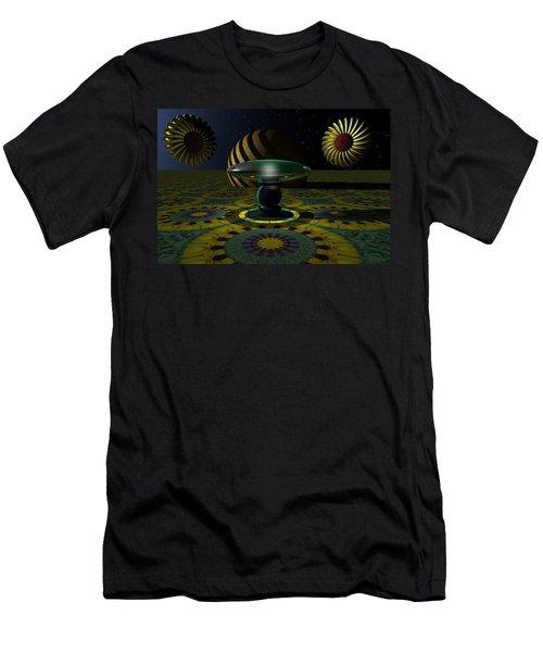 One Last Dream Before Dawn Men's T-Shirt (Slim Fit) by Lyle Hatch