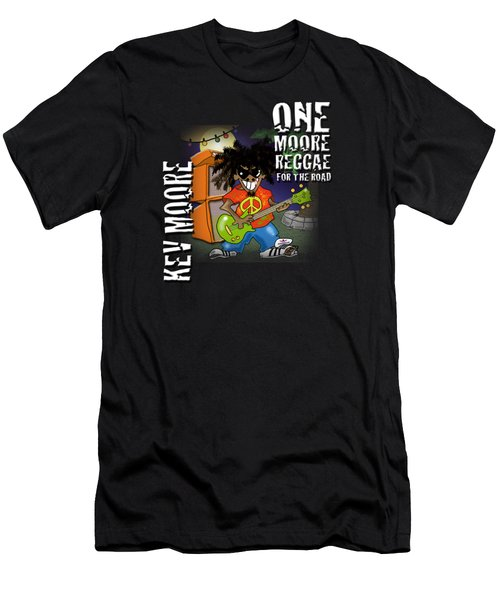 One Moore Reggae Men's T-Shirt (Athletic Fit)