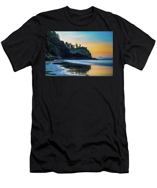 One Morning At The Beach Men's T-Shirt (Athletic Fit)