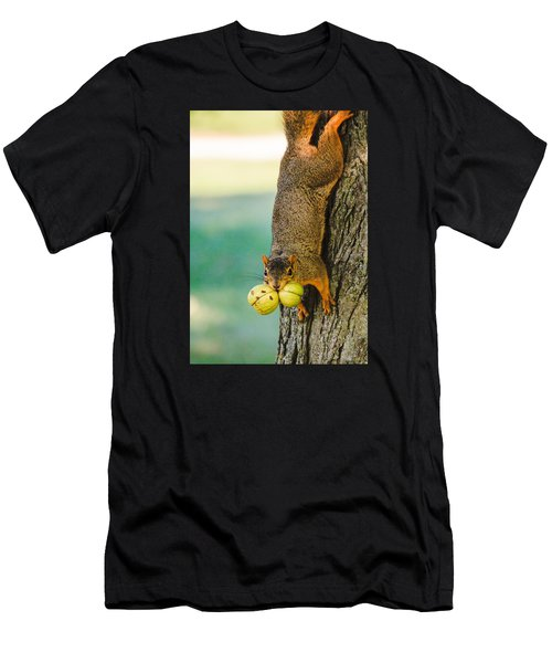 One Nut Is Never Enough Men's T-Shirt (Athletic Fit)