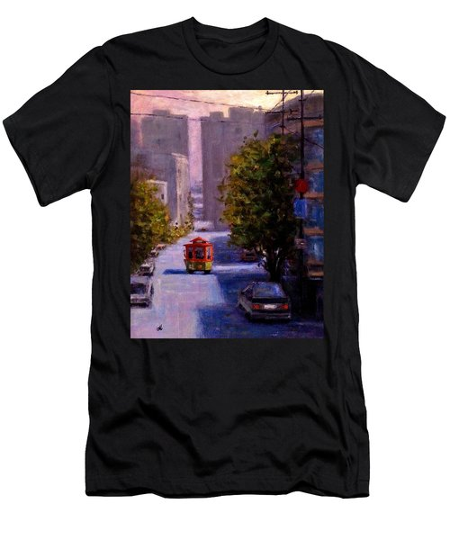 One Quiet Afternoon In San Francisco.. Men's T-Shirt (Athletic Fit)