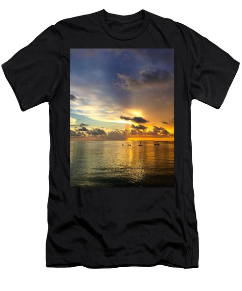 One Summer Night... Men's T-Shirt (Athletic Fit)