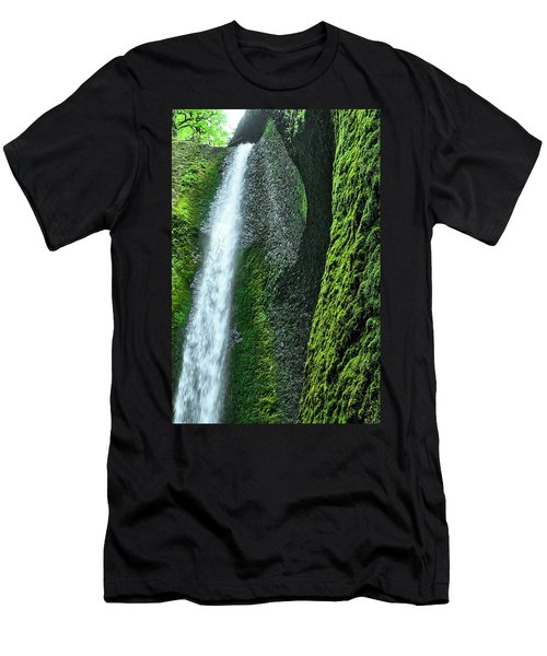 Oneonta Falls  Men's T-Shirt (Athletic Fit)