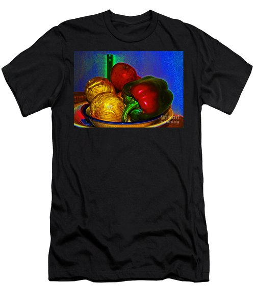 Onions Apples Pepper Men's T-Shirt (Athletic Fit)