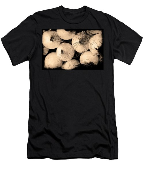 Men's T-Shirt (Athletic Fit) featuring the photograph Onions by Jennifer Wright