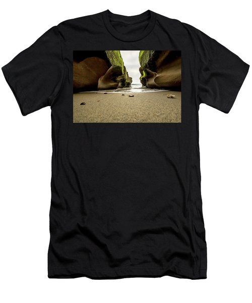 Men's T-Shirt (Slim Fit) featuring the photograph Only At Low Tide by Ryan Weddle