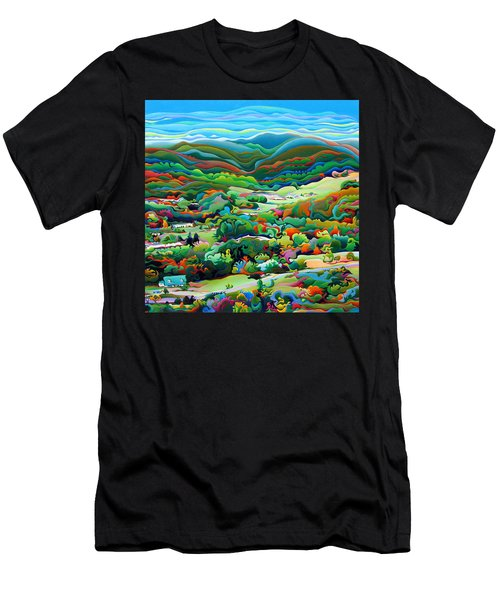 Onset Of The Appalachian Wonderfall Men's T-Shirt (Athletic Fit)