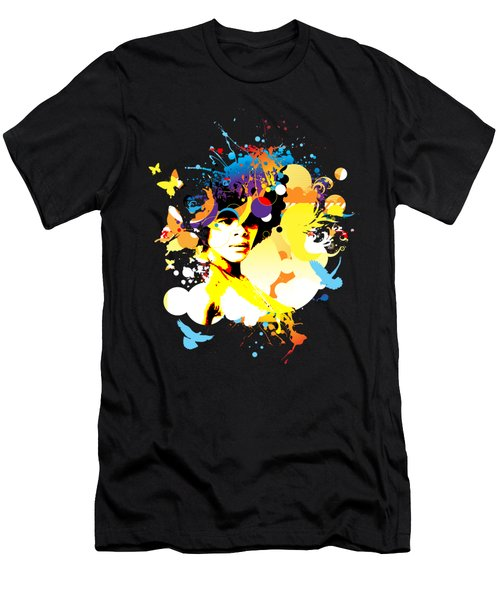 Onxy Doves - Bespattered Men's T-Shirt (Athletic Fit)