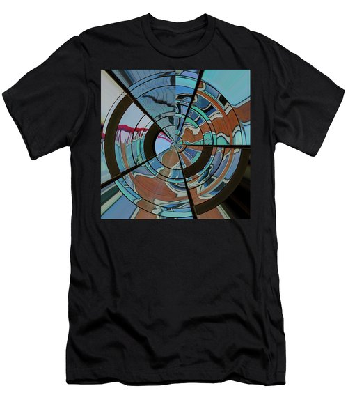 Op Art Windows Orb Men's T-Shirt (Athletic Fit)