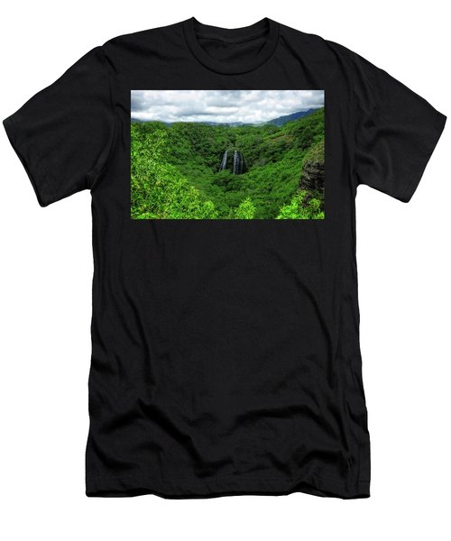 Opaeka Falls Men's T-Shirt (Athletic Fit)
