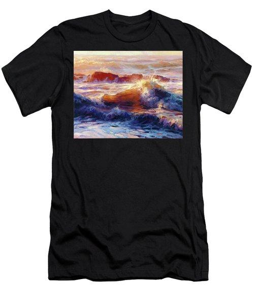 Opalescent Sea Men's T-Shirt (Athletic Fit)