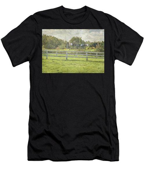 Open Air Clothes Dryer Men's T-Shirt (Athletic Fit)