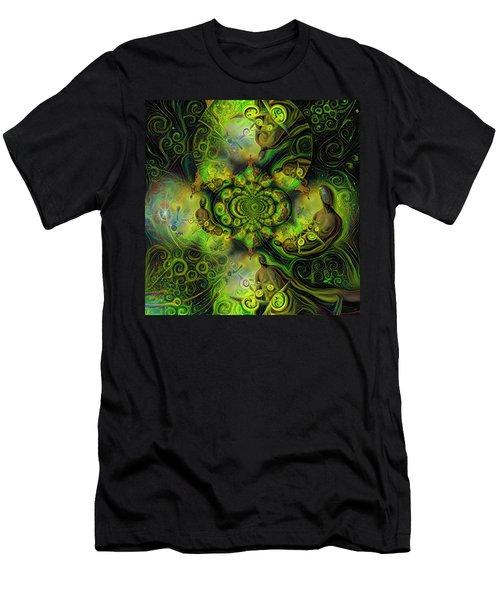 Open Mind Men's T-Shirt (Athletic Fit)