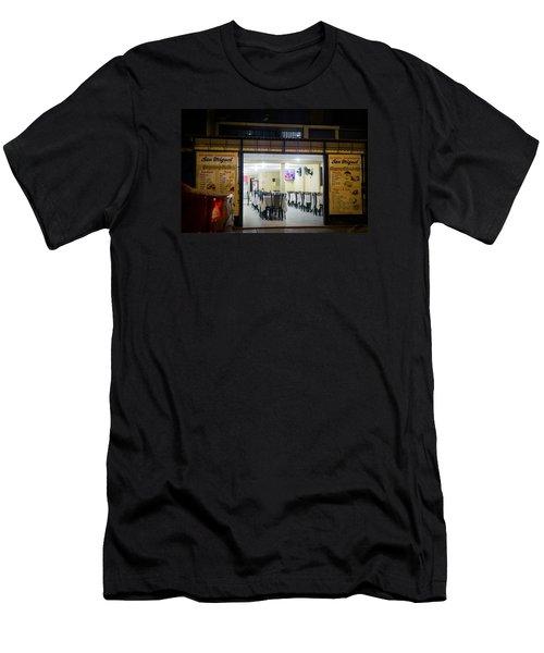 Open Restaurant In Lima, Peru Men's T-Shirt (Athletic Fit)