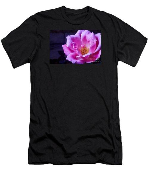 Open Rose Men's T-Shirt (Athletic Fit)