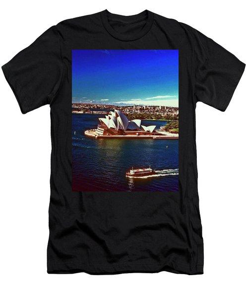 Opera House Sydney Austalia Men's T-Shirt (Athletic Fit)