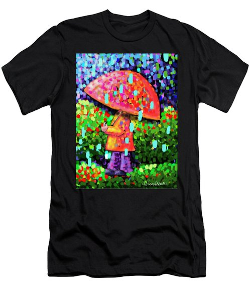 Rainy Day Stroll Men's T-Shirt (Athletic Fit)